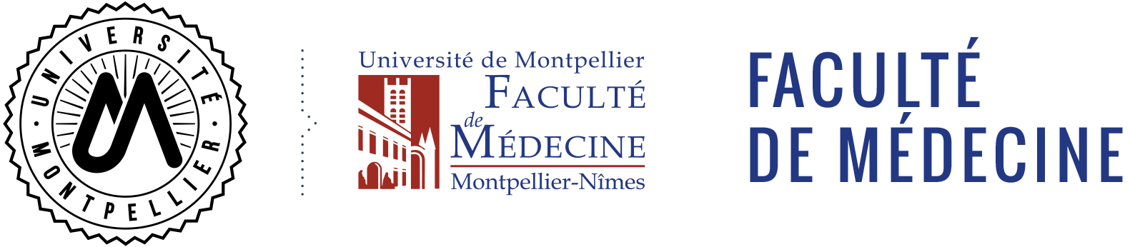 Logo faculte de medecine montpellier